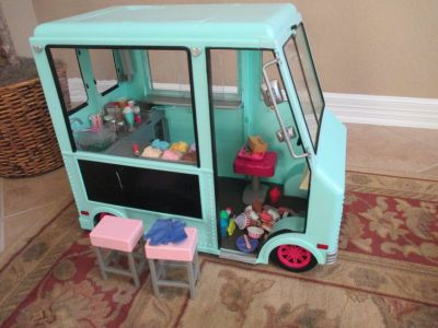 Our Generation Doll Ice Cream Truck also for American Girl Dolls
