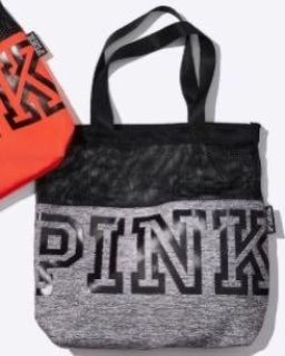 New in plastic Pink tote