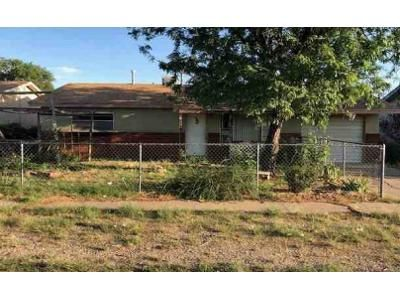 3 Bed 1 Bath Foreclosure Property in Clovis, NM 88101 - Circle Dr