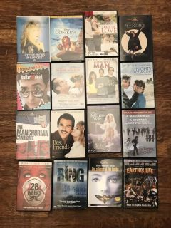 Any 4 of my dvds for $1