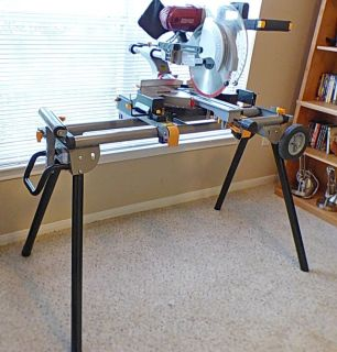 CHICAGO ELECTRIC 12 INCH COMPOUND MITER SAW WITH STAND