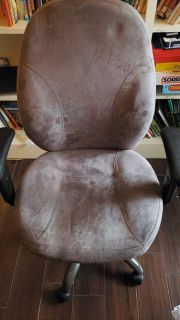 Comfy grey office chair