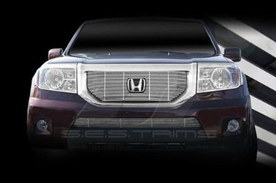 Buy SES Trims TI-CG-204A/B 09-11 Honda Pilot Billet Grille Bar Grill Chromed motorcycle in Bowie, Maryland, US, for US $341.00