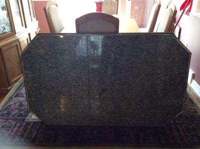 Granite tile table top
