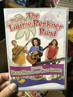 Laurie Berliner Band ... 1 CD , 1 DVD combo ... $5