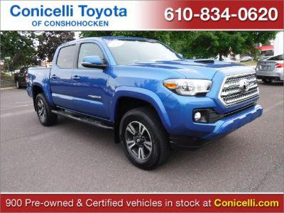 2016 Toyota Tacoma TRD SPORT (Blazing Blue Pearl)
