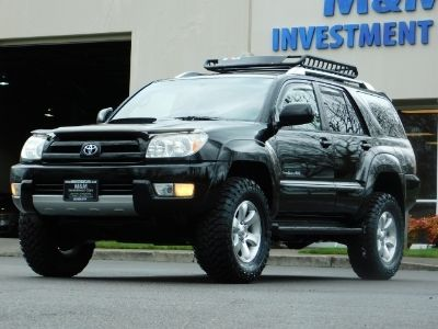2003 Toyota 4Runner SPORT 4X4 / V6 4.0L / DIFF LOCK / LIFTED !!