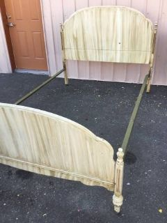 Antique Full Sized Bed - Delivery Available