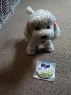 Fisher Price Puppy Grows and Knows Your Name $10.00