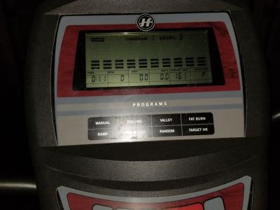Elliptical Ergoflow Ex-55