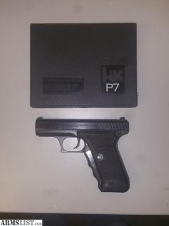 For Sale: Heckler & Koch P7 Squeezecocker