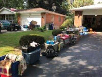 Garage Sale Thursday & Friday, 9 to 3