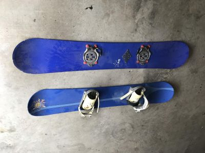Two Snowboard K2