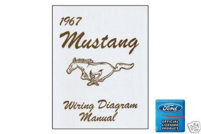 Find 1967 FORD MUSTANG SHELBY WIRING DIAGRAM MANUAL motorcycle in Manchester, Connecticut, US, for US $11.25