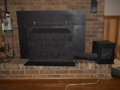"""Craftstove"" wood burning fireplace insert"