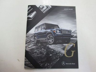 Sell 2016 Mercedes Benz G Class Sales Brochure Manual FACTORY OEM BOOK 16 DEALERSHIP motorcycle in Sterling Heights, Michigan, United States, for US $19.99
