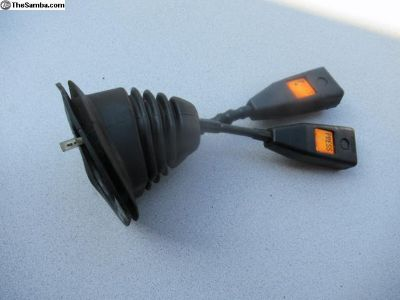 Porsche 911 Seat Belt Buckles date stamped 01/90