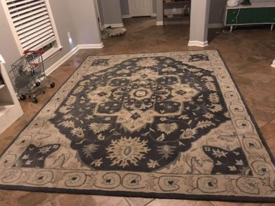 Brand New Area 8x10 Wool Area Rug