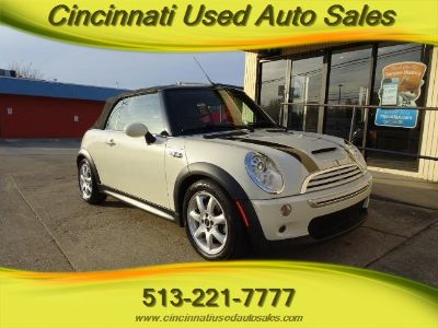 2008 MINI Cooper S (White Silver Metallic)