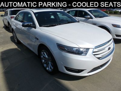 2018 Ford Taurus Limited (White Platinum Metallic Tri-Coat)