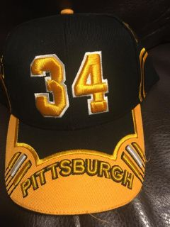 NEW Embroidered Pittsburgh Steelers #34 Hat