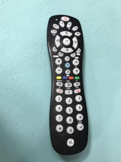 GE 6 Programmable Universal DVR Remote Control for TV, VCR, DVD, Blue Ray, Cable, Satellite, & Digital Converter Box