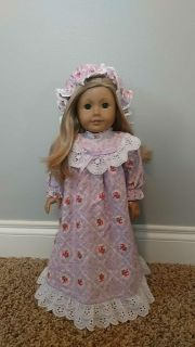 """18"""" doll nightgown"""