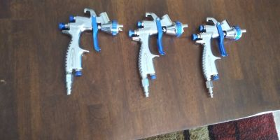 Bluepoint auto paint guns