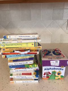 Baby Einstein books (and other board books)