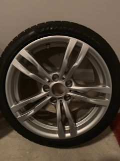 Bmw Tires,Rims and extra 4 tires