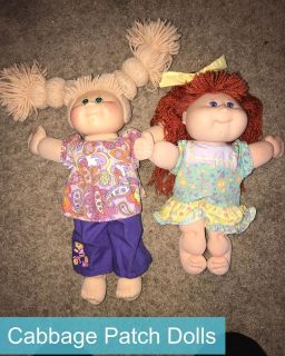 Cabbage Patch Dolls (see full description)
