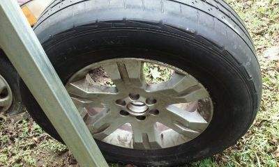 17 Inch spare wheel - used on Nissan