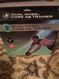 Dual Wheel Core AB Trainer-New in Box