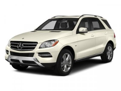 2015 Mercedes-Benz M-Class ML350 (White)