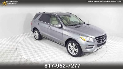 2014 Mercedes-Benz M-Class ML350 (Steel Gray Metallic)