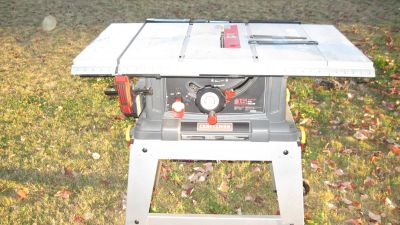 "Sears Craftsman 10"" 15 AMP Table Saw"