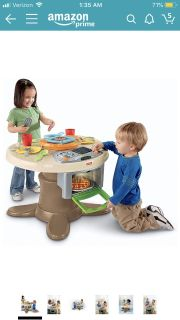 Fisher Price Serve & Surprise Kitchen & Table