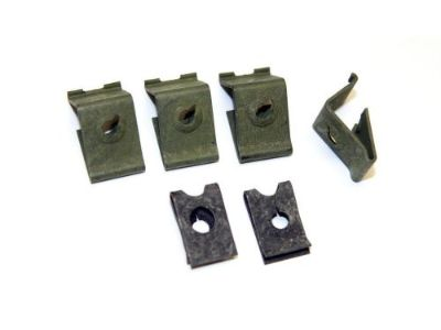 Find 1964-1965 Ford Falcon Instrument Bezel Top Retaining Clips - Set of 6 motorcycle in Vista, California, United States, for US $4.95