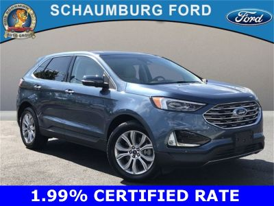 2019 Ford Edge Titanium (Blue Metallic)