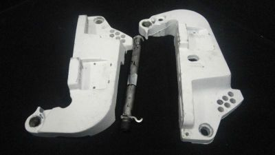 Sell STERN BRACKET SET #335489/335416 JOHNSON/EVINRUDE 1991-2001 10-225HP BOAT (602) motorcycle in Gulfport, Mississippi, US, for US $100.38