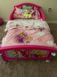 Princess Bed and Bedding
