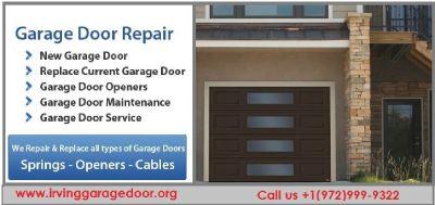 5 Star Garage Door Opener Repairs ($25.95) 75039 Irving TX
