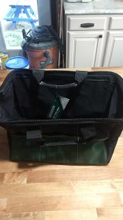 "NWT MasterForce 13"" tool bag wide mouth"