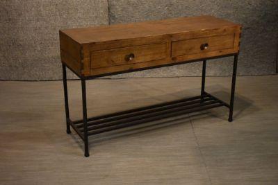 Rustic Modern Industrial Style Wood and Metal ...