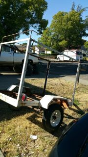 Utility trailer 4x6 with electrical