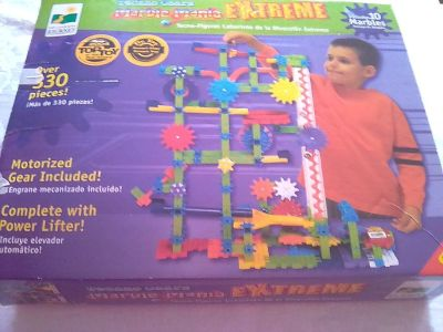 Techno Gears Marble Mania Extreme with Motorized Gears