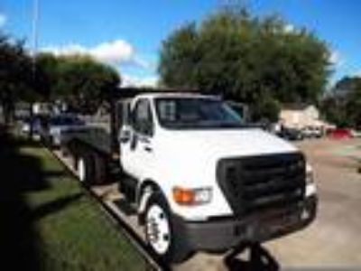 2004 Ford F650 FLATBEDSTEAKBED SUPER DUTY