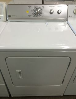 Maytag Electric Dryer in White