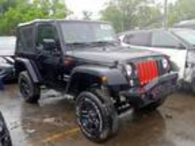 Salvage 2017 JEEP WRANGLER SPORT for Sale