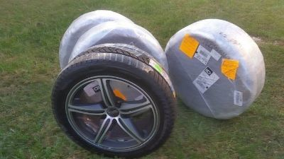 Pirelli Winter Tires with Foose Rims size 245/45/R18